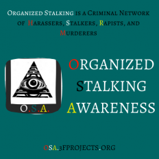 Organized Stalking Terms & Definitions